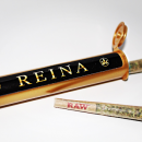 Reina: Black, Gold, Green & Gorgeous